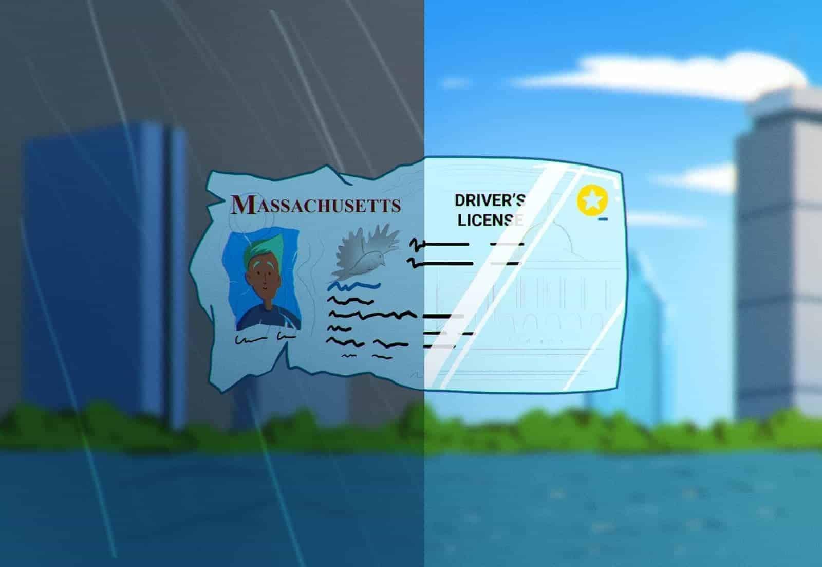 renew massachusetts driver's license