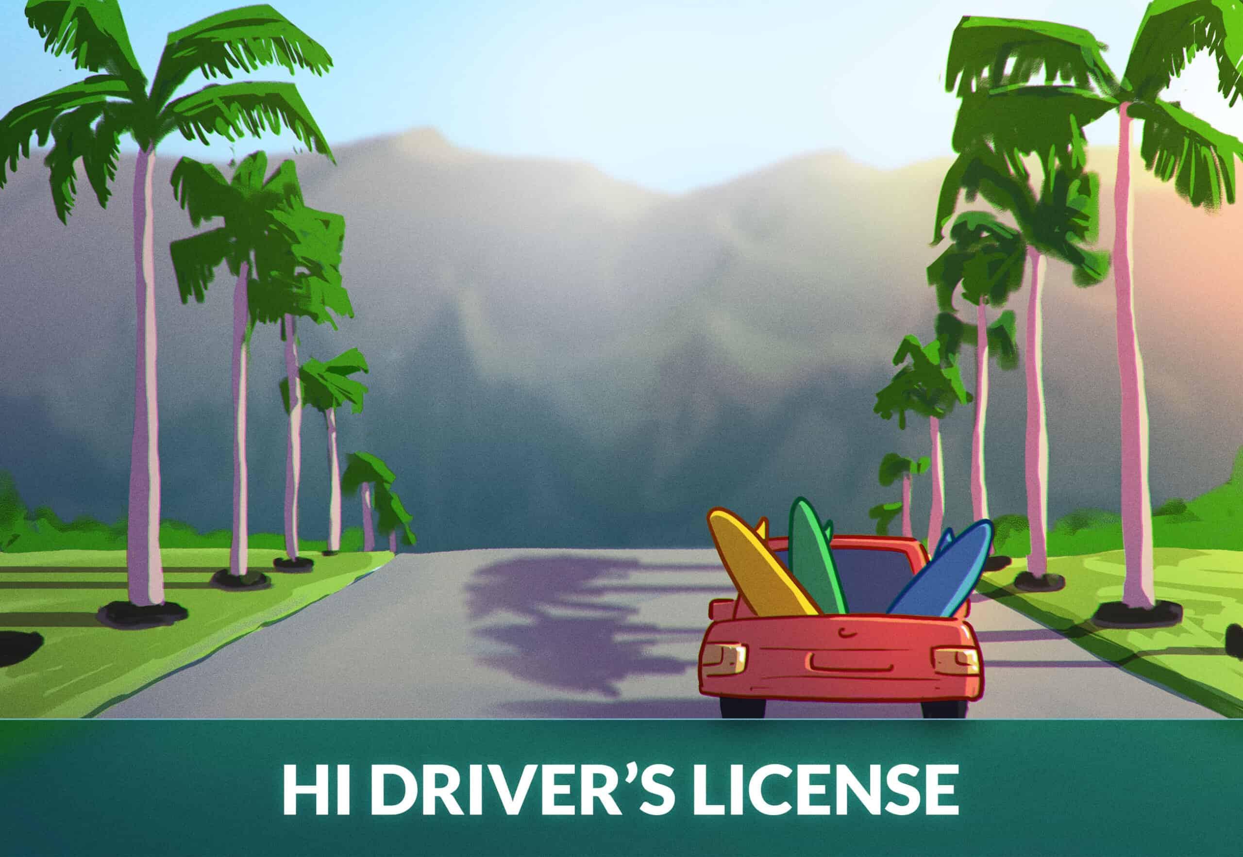 Hawaii Driver's License