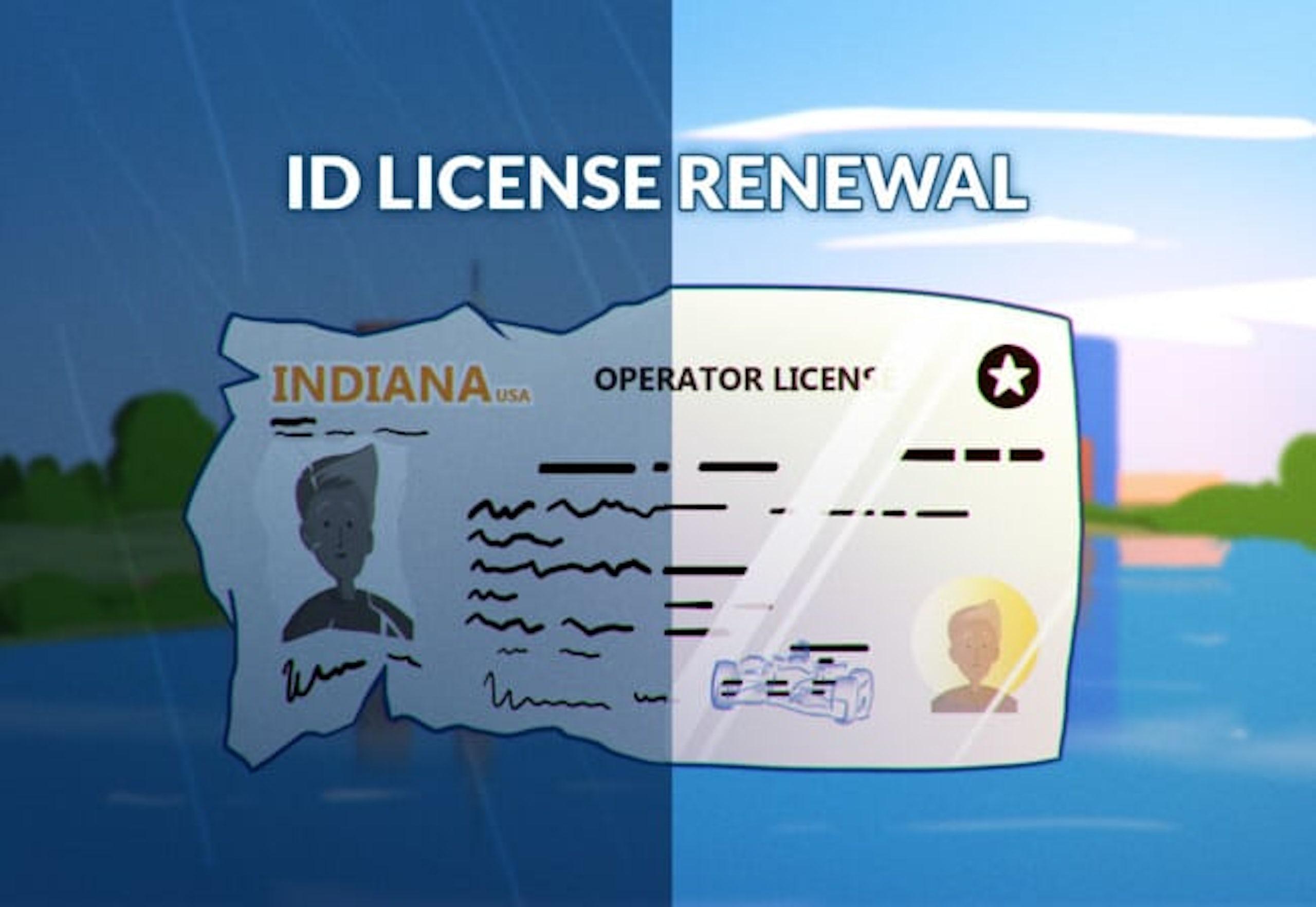 Indiana drivers license renewal