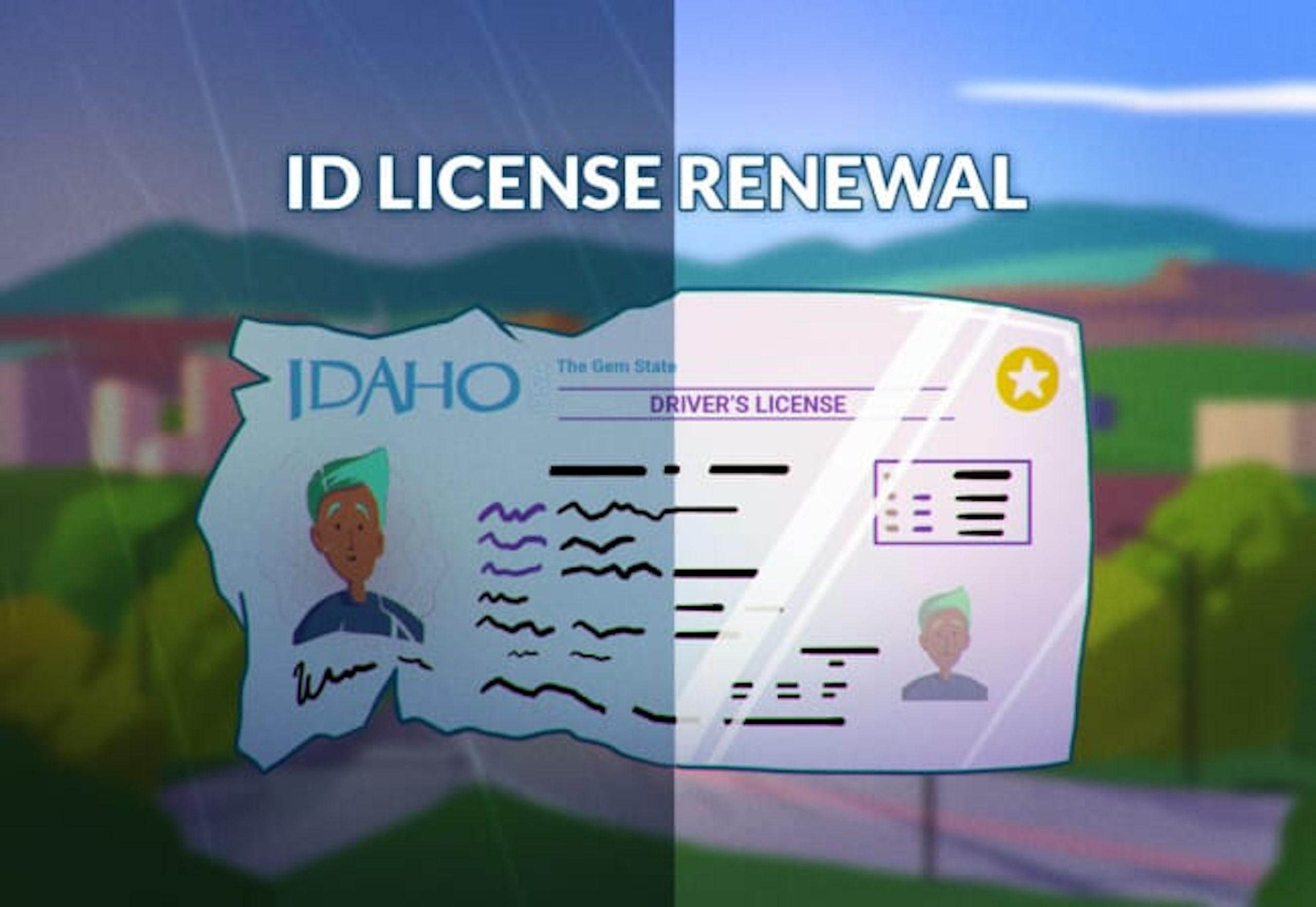 Idaho Driver's License Renewal