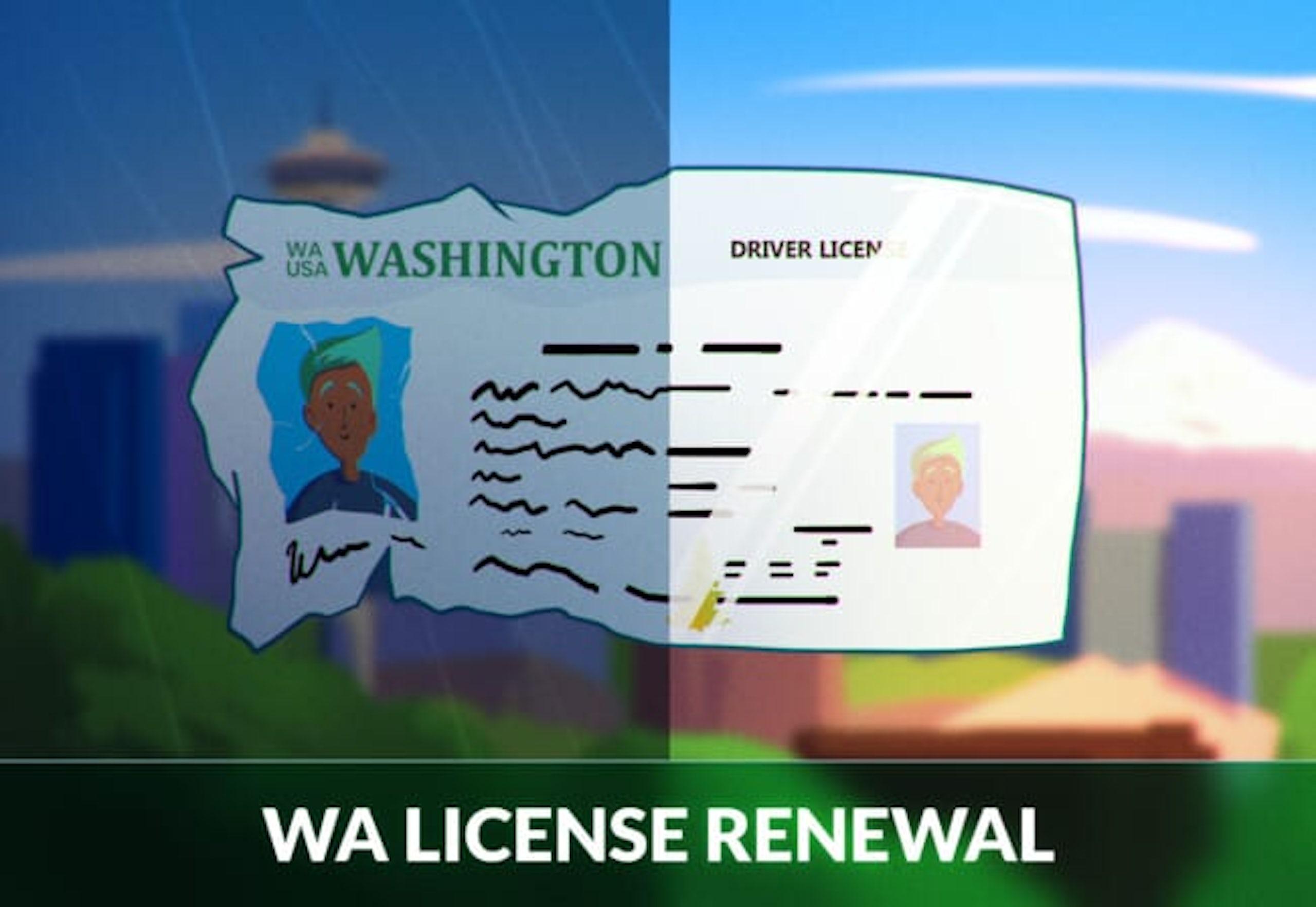 Washington Driver's License Renewal