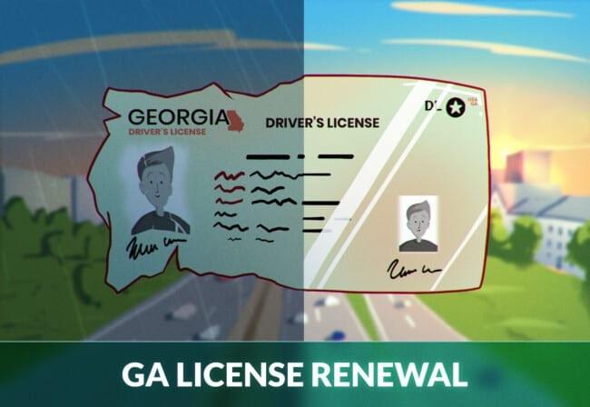 Georgia Driver's License Renewal
