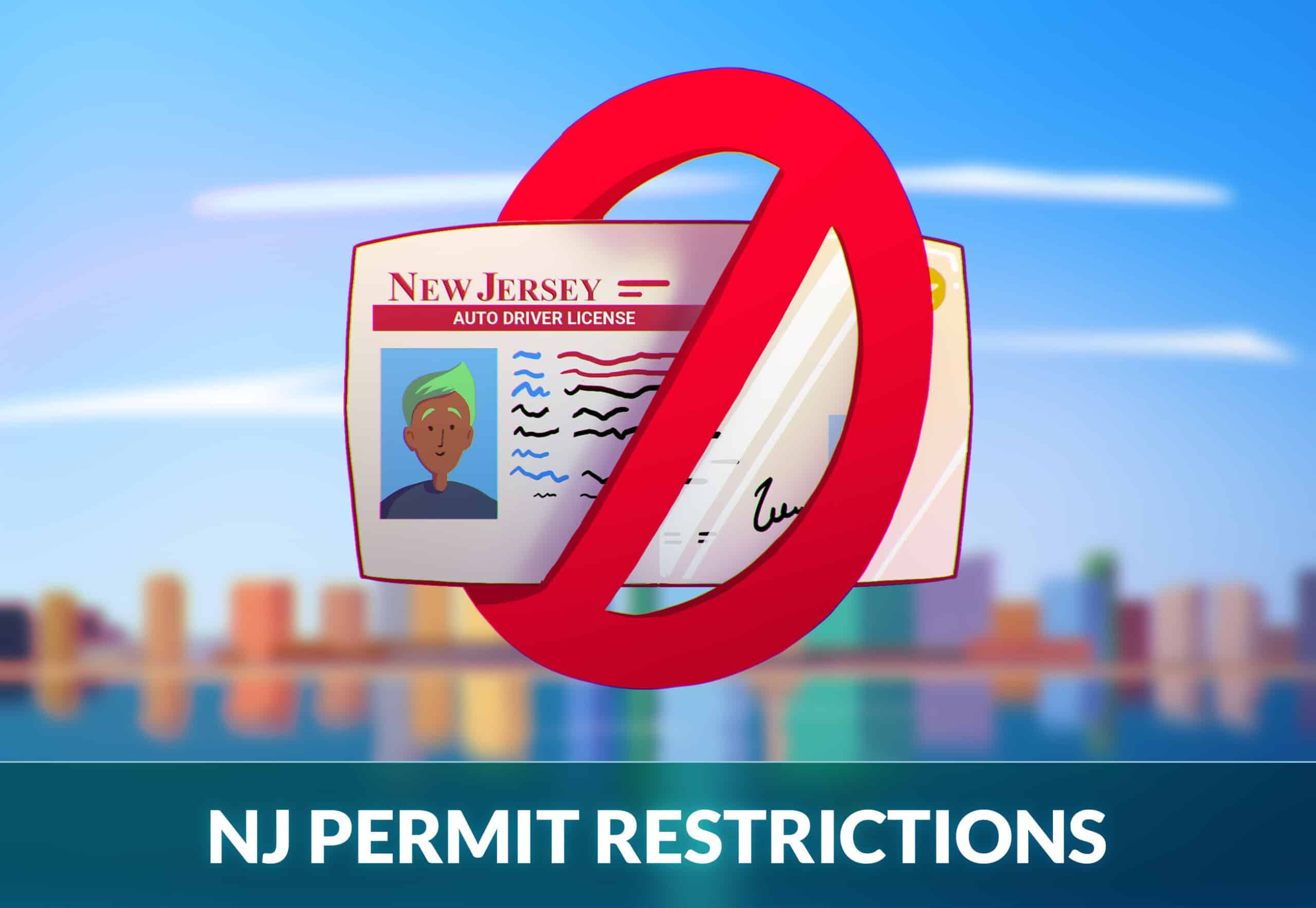 New jersey permit restrictions