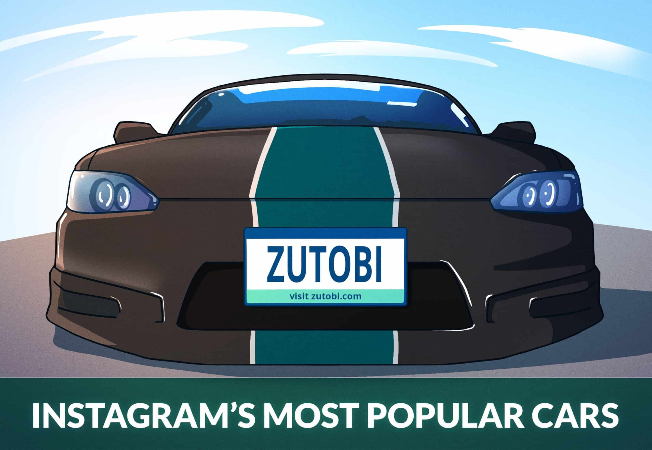 INSTAGRAMS MOST POPULAR CARS