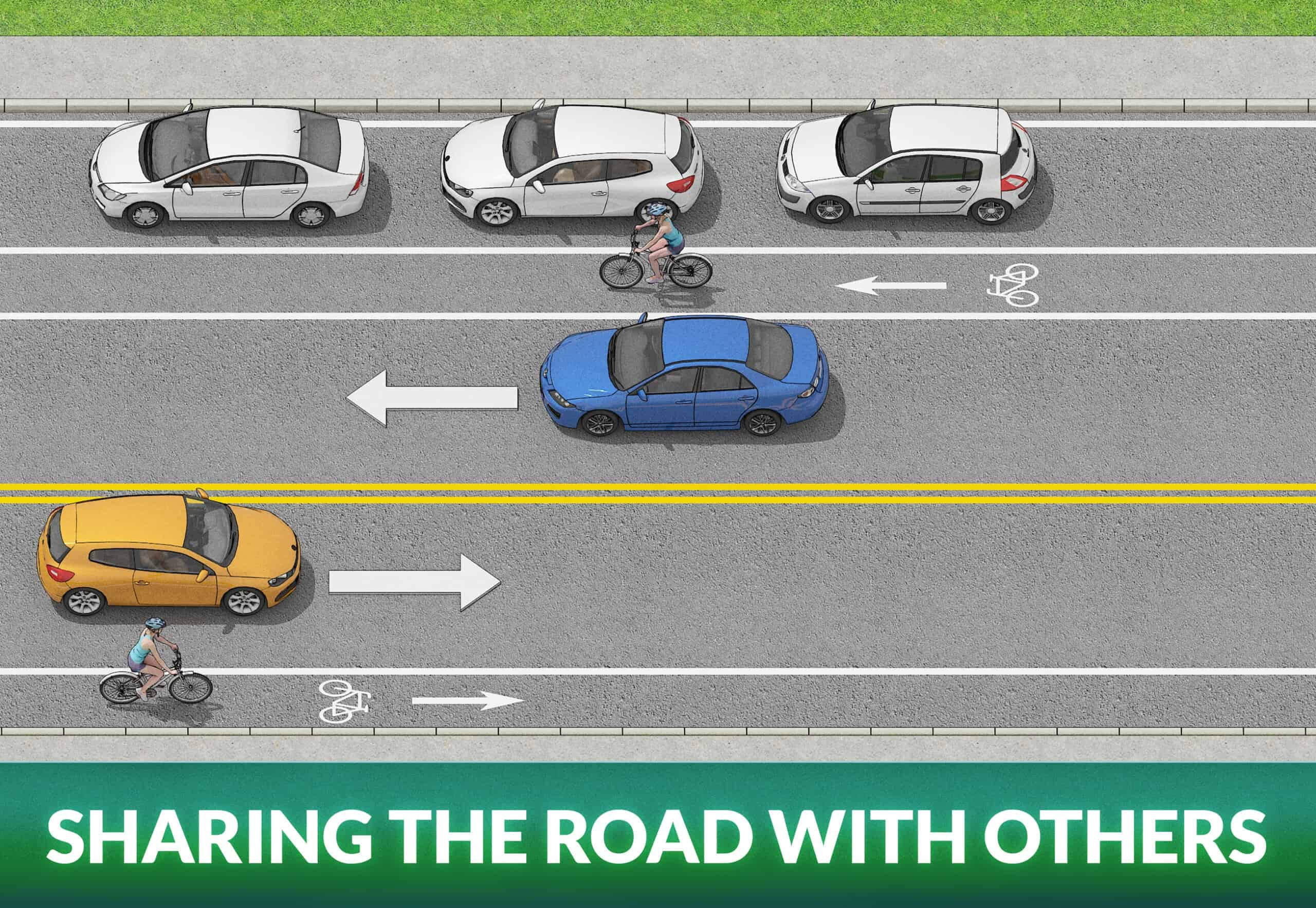 SHARING THE ROAD WITH OTHERS
