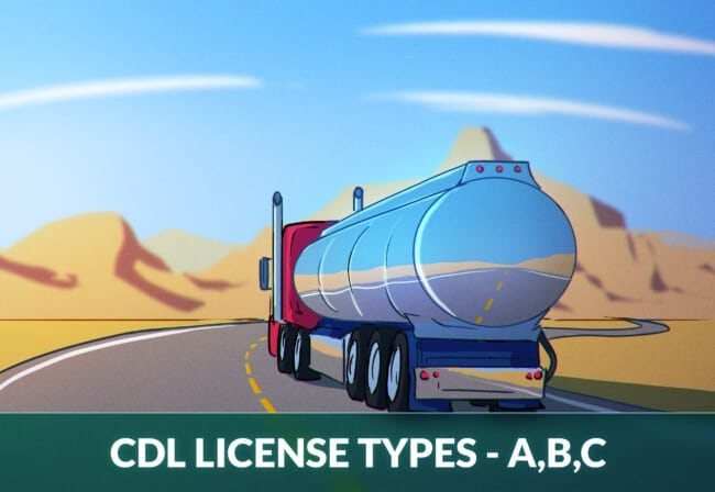 Types of CDL license classes