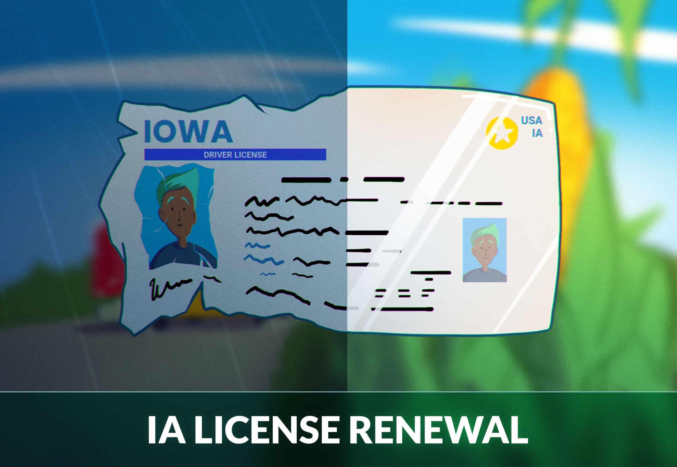 Iowa Driver's License Renewal