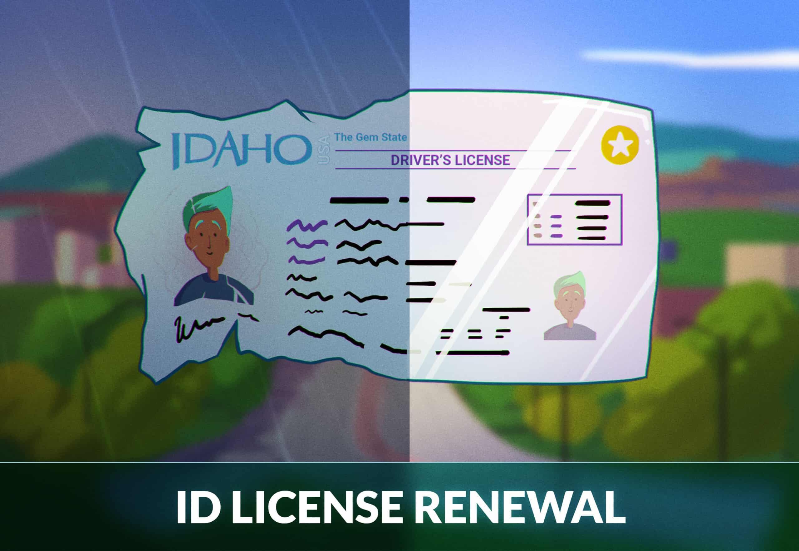 Idaho Drivers License Renewal