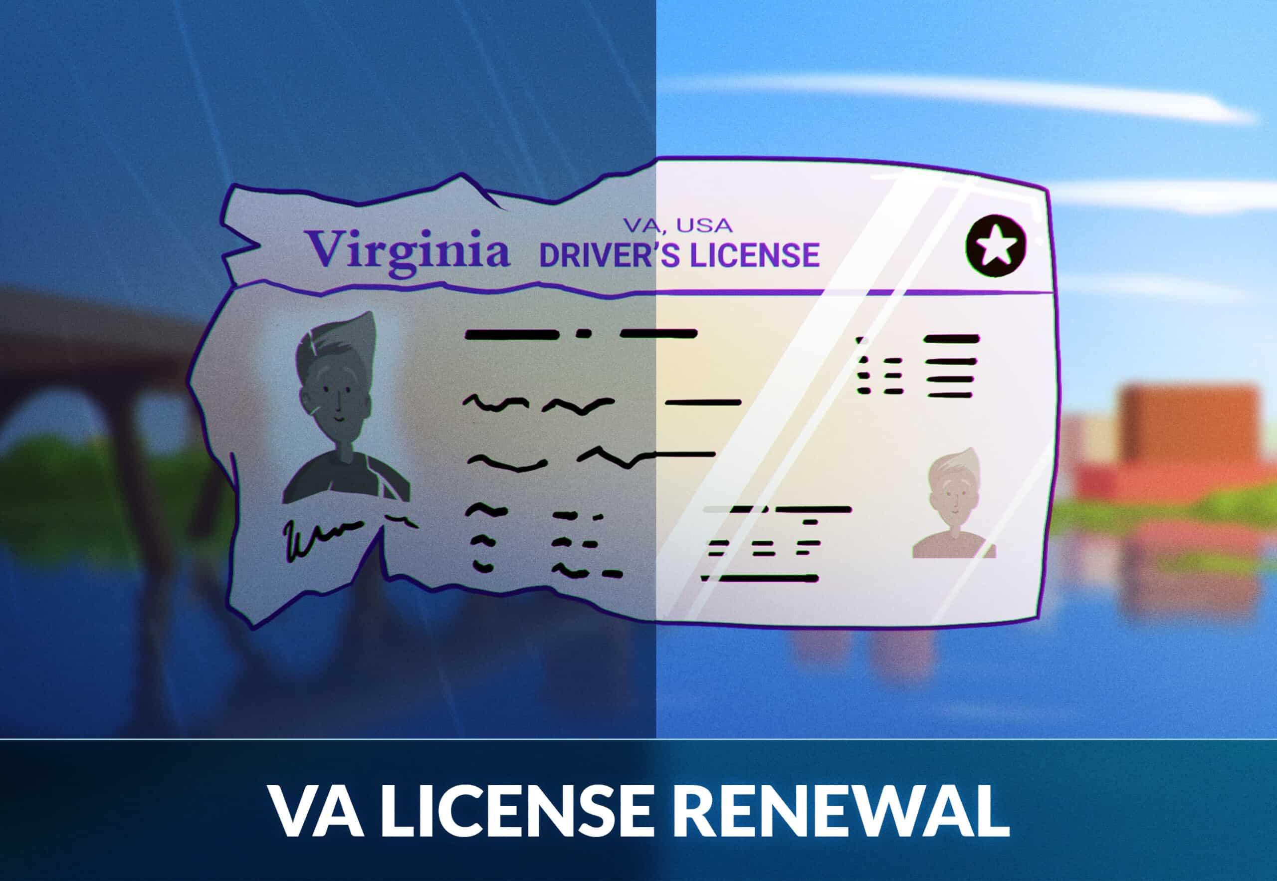 Virginia Driver's License Renewal
