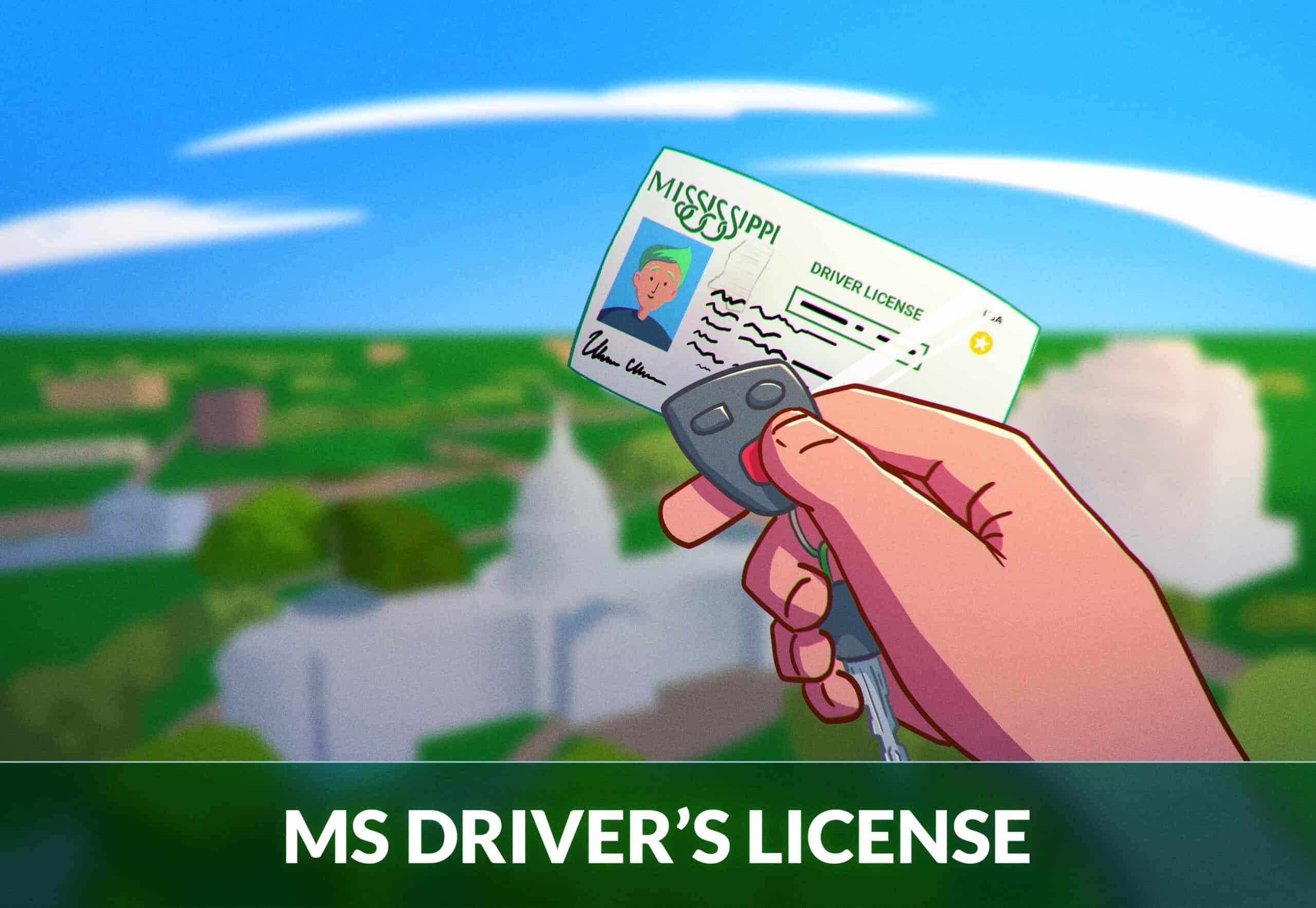 Mississippi Driver's License