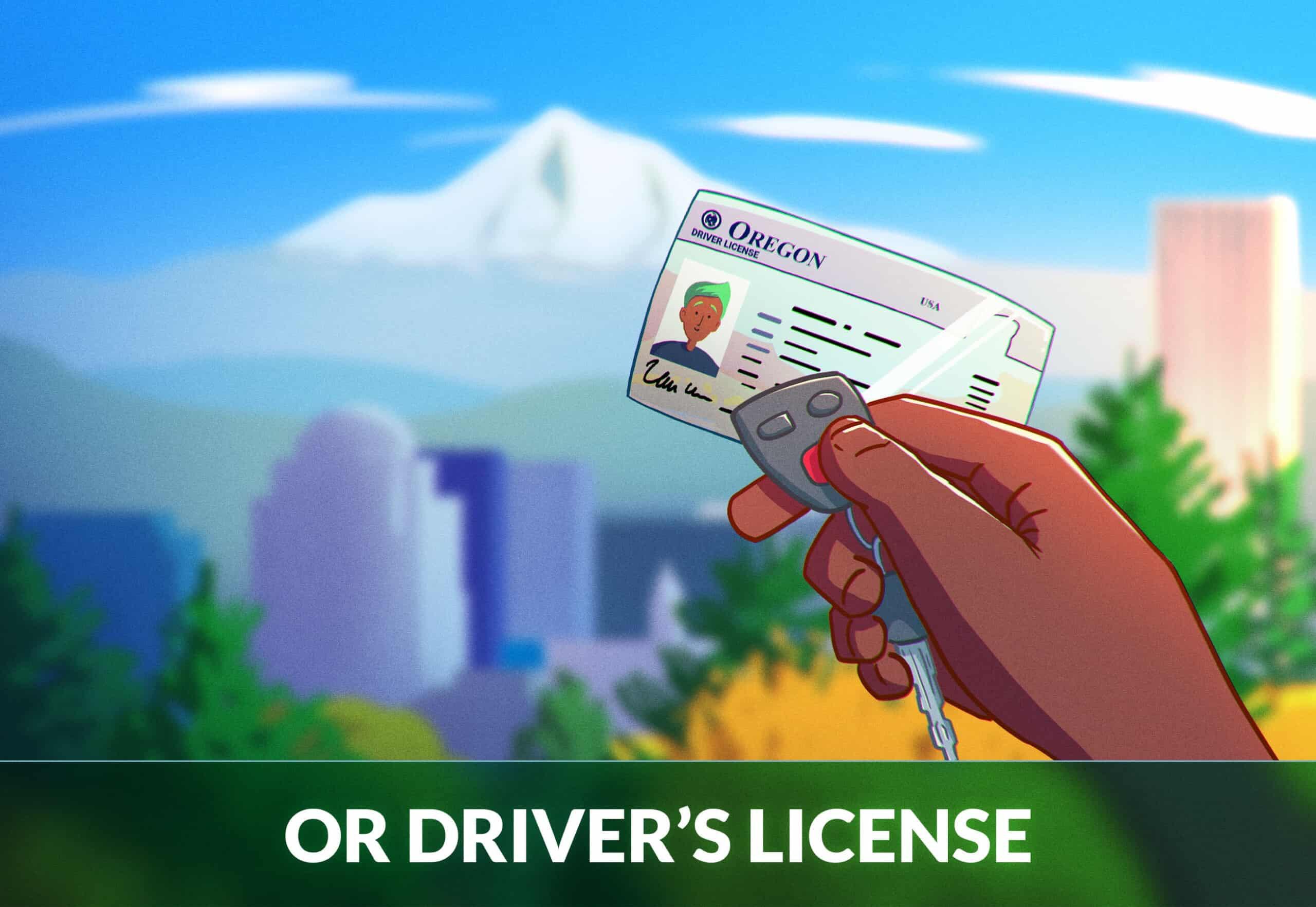 Oregon Driver's License