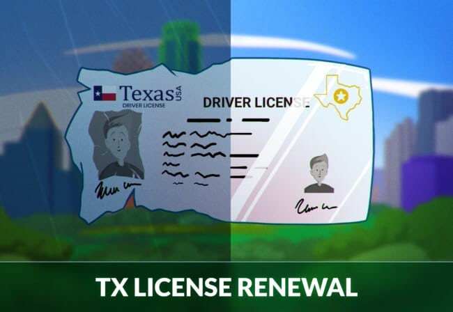 Texas Driver's License Renewal