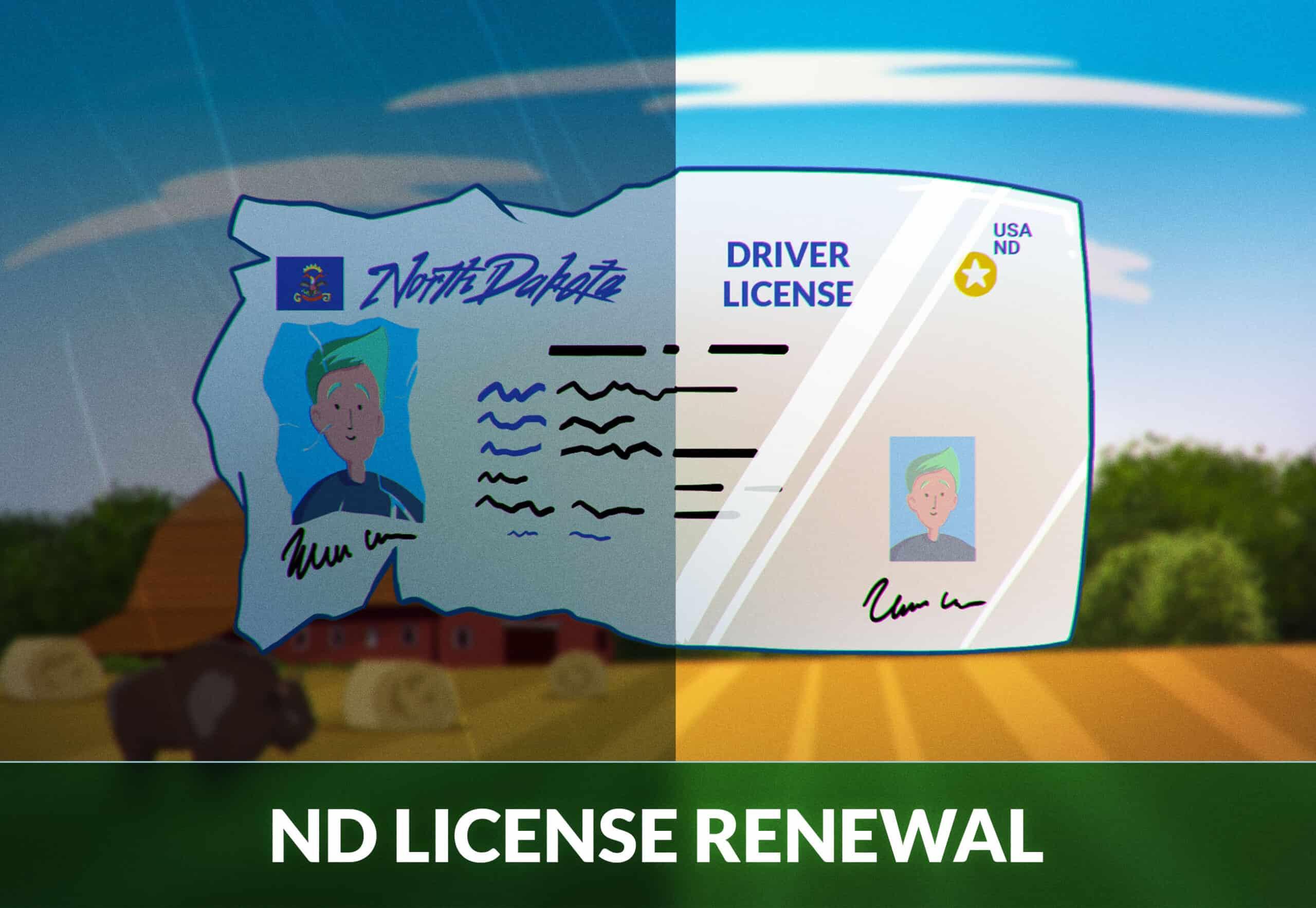 North Dakota Driver's License Renewal