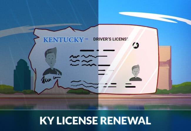 Kentucky driver license renewal