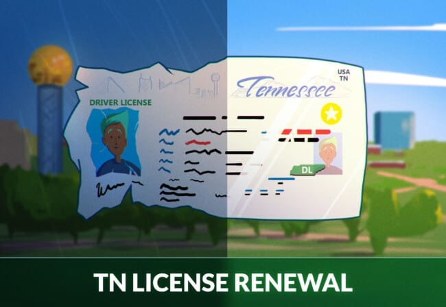 Tennessee drivers license renewal