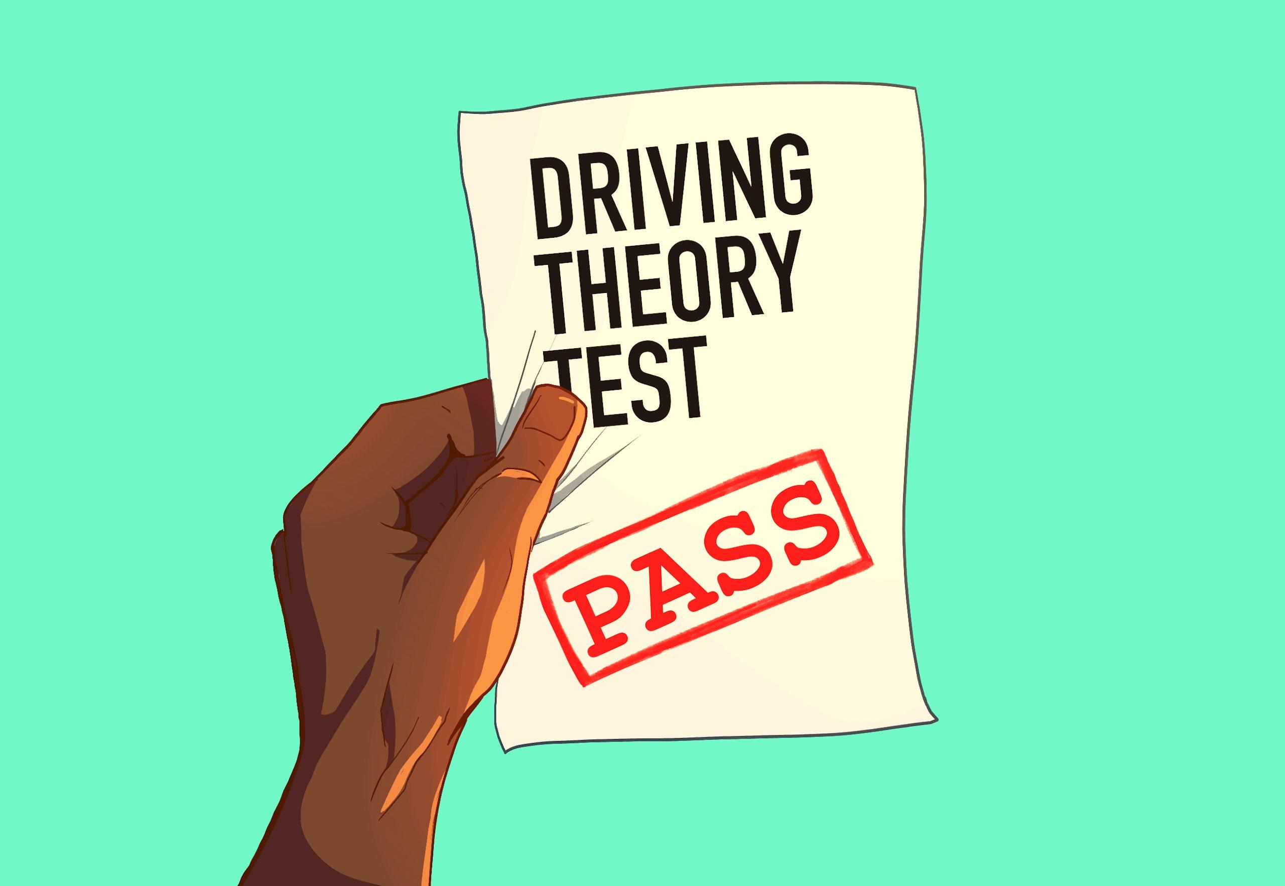 theory test pass mark
