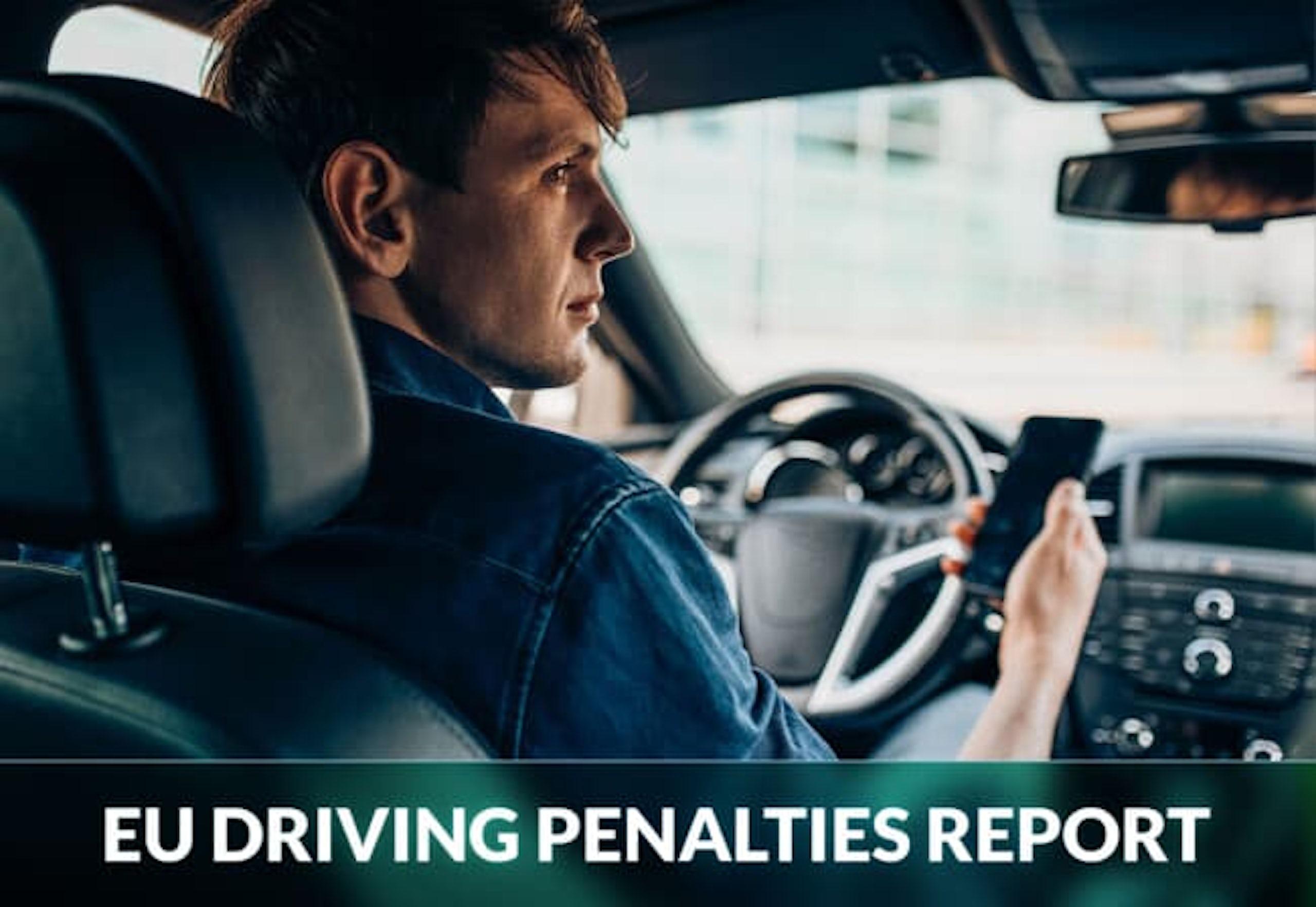 EU DRIVING PENALTIES REPORT