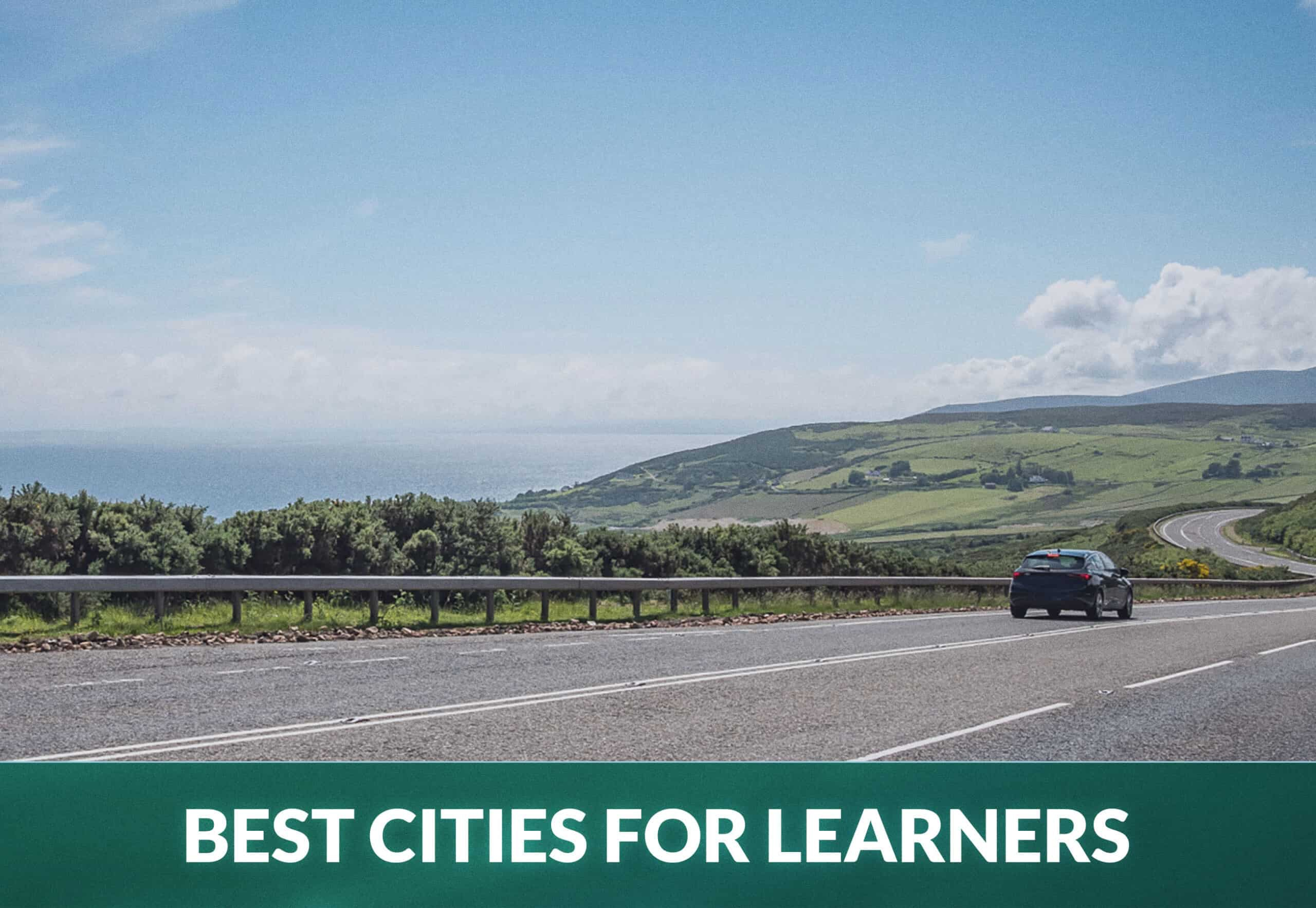 The Best Cities for Learner Drivers in the UK